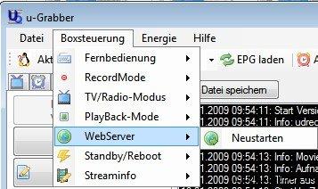 D-Box Webserver