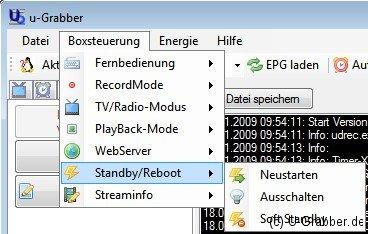 D-Box Standby/Rebbot